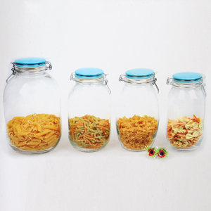 Borosilicate Honey Candy Herb Weed Cookie 350ml 400ml Food Storage Glass Jar
