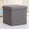 Custom Home Decor Colorful Foldable Mini Ottoman Storage Stool