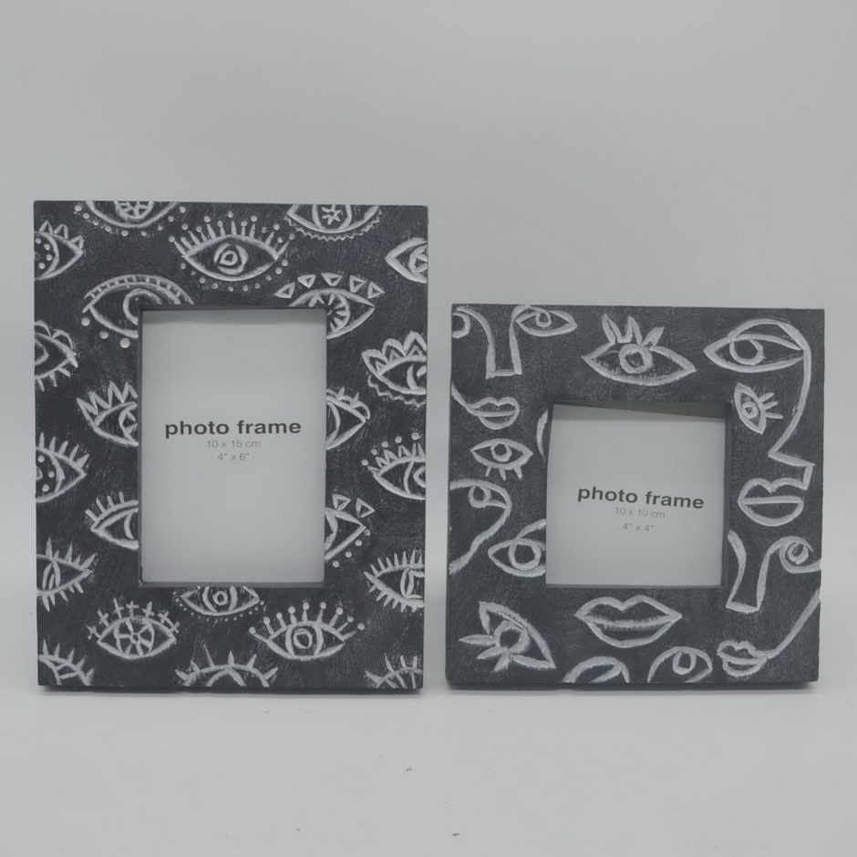 Custom Personalized Souvenir Polyresin Picture Photo Frame for Sale
