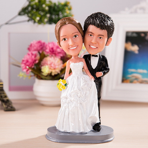 Personalized bobble head doll or big head doll wedding gift wedding decoration