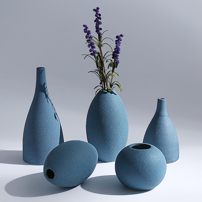 Elegant design matt glazed ceramic vase for home decoration