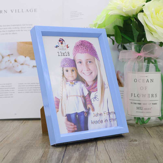 Custom Logo Wall Hanging Home Decorative Wooden Picture Photo Frame Wood Painting Frame