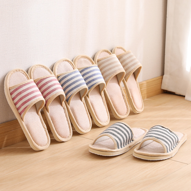 Wholesale Cute Cartoon Cat Home Animal Slipper Toy Stuffed Plush Animal Cat Slipper for Women/lady
