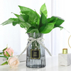 Wholesale Clear Round Shape Mouthblown Wedding Decorative Glass Vase