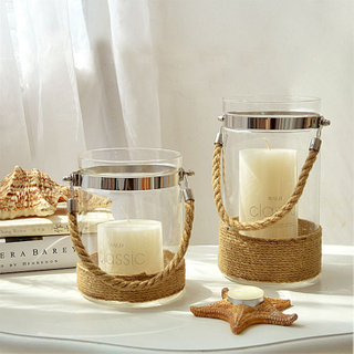Glass Hanging Tealight Holder Lantern/hanging Glass Lighting Decor Favors